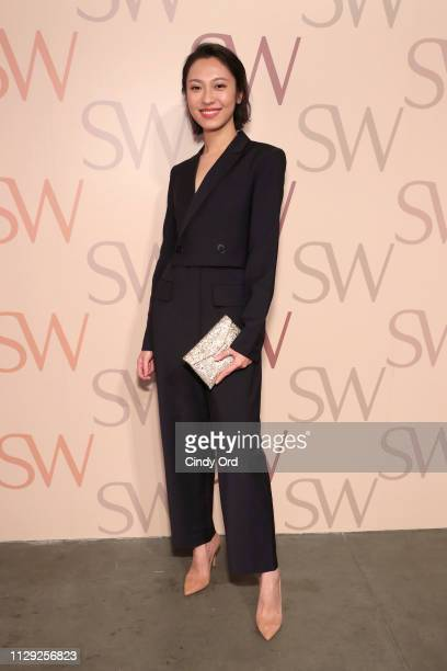 Anny Fan attends Stuart Weitzman Spring Celebration 2019 on February 12 2019 in New York City
