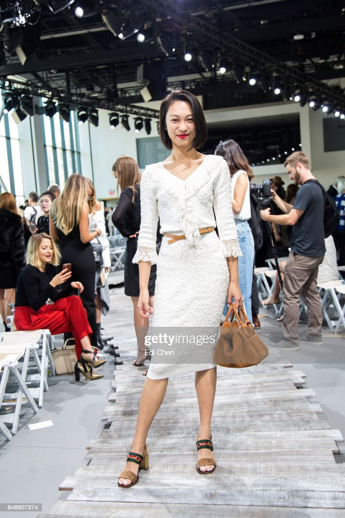 Anny Fan attends the Michael Kors runway show during New York Fashion Week at Spring Studios on September 13, 2017 in New York City.
