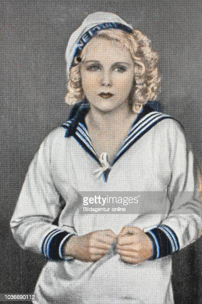 Anny Ondra 1903 1987 was a Czech film actress She was married to German boxing champion Max Schmeling digital improved reproduction of an historical...