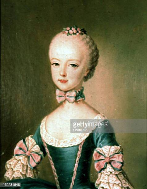 Anonymous Archduchess MarieAntoinette as a child Schonbrunn Palace Vienna