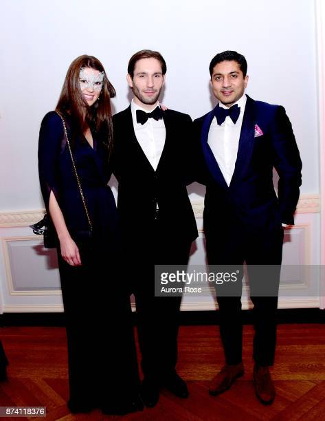Anonymous attends Search and Care's Annual Yorkville Ball at Private Club on November 10 2017 in New York City