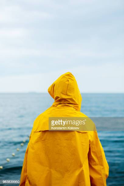 Anonymous girl on waterfront