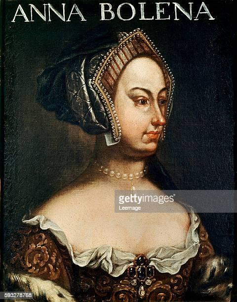 Anonymous portrait of Anne Boleyn Galleria degli Uffizi Florence Italy