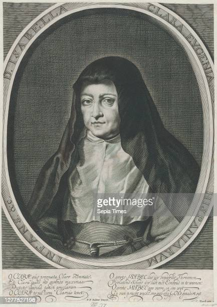 Anonymous, Portrait of Archduchess Isabella Clara Eugenia, Spanish Regent of the Low Countries, as a Nun, Anonymous, After Peter Paul Rubens ,...