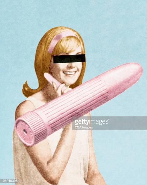 anonymous with with vibrator - sex toy stock photos and pictures