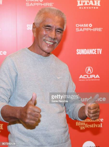 Anote Tong attends the Anote's Arc Premiere during the 2018 Sundance Film Festival at Egyptian Theatre on January 19 2018 in Park City Utah