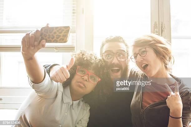 Outro crazy selfie juntos