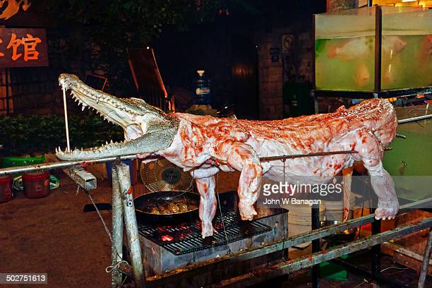 Another croc on the barbie