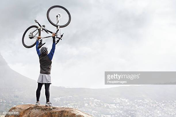Another mountain cycled!