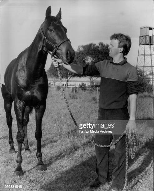 Another Phenomenon with Bruce Wallace after work at Randwick today September 29 1983