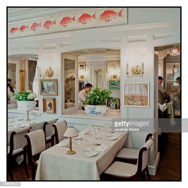 Another splendid spot for dining is photographed at 5 Hertford Street, which is home to the nightclub Loulou's for Vanity Fair Magazine on June 11,...