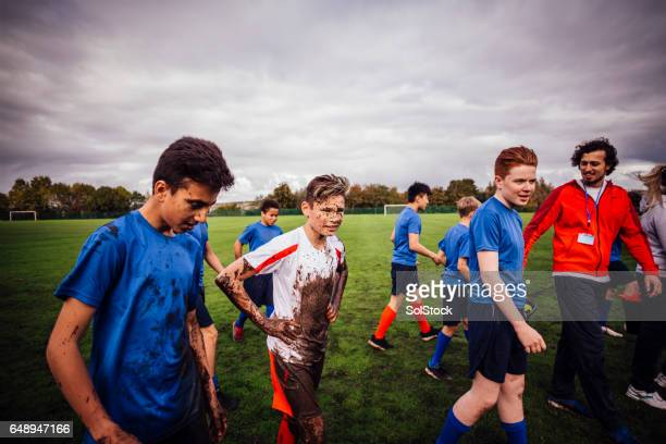 another successful game - rugby stock pictures, royalty-free photos & images