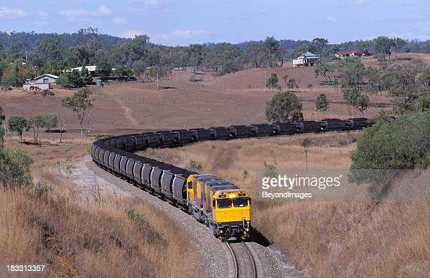Ein weiterer trainload von Kohle, schwarz