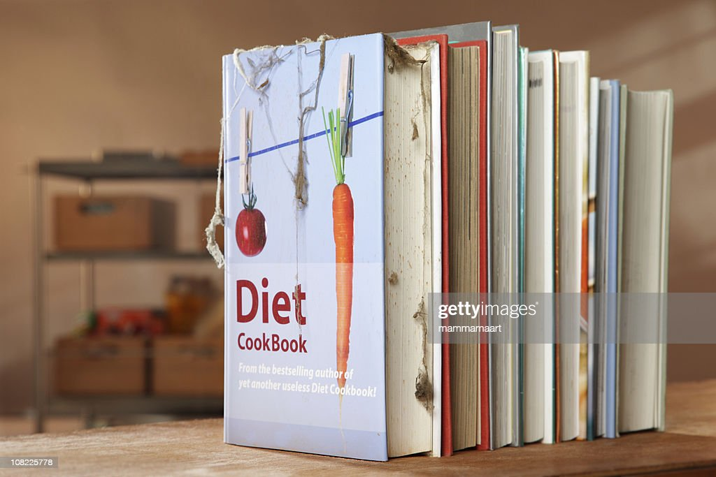 Another useless Diet Cookbook : Stock Photo