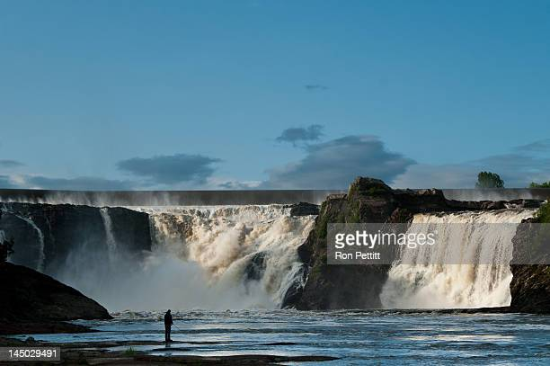 another view of falls - lévis quebec stock pictures, royalty-free photos & images