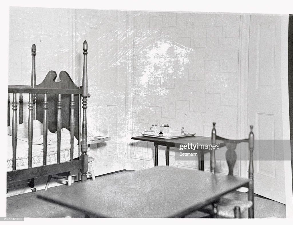 View of Nursery in Charles Lindbergh Home : Nachrichtenfoto