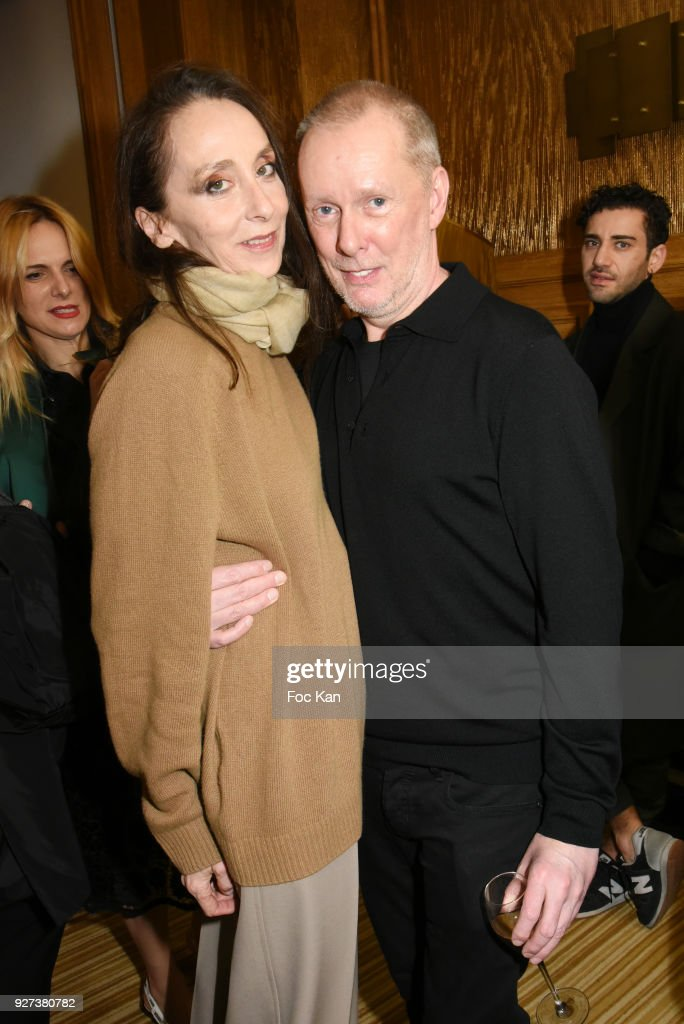 Anouchka and Bill Gaytten attend the John Galliano show as part of the Paris Fashion Week Womenswear Fall/Winter 2018/2019 on March 4, 2018 in Paris, France.