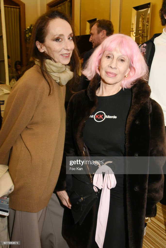 Anouchka and Marie Beltrami attend the John Galliano show as part of the Paris Fashion Week Womenswear Fall/Winter 2018/2019 on March 4, 2018 in Paris, France.