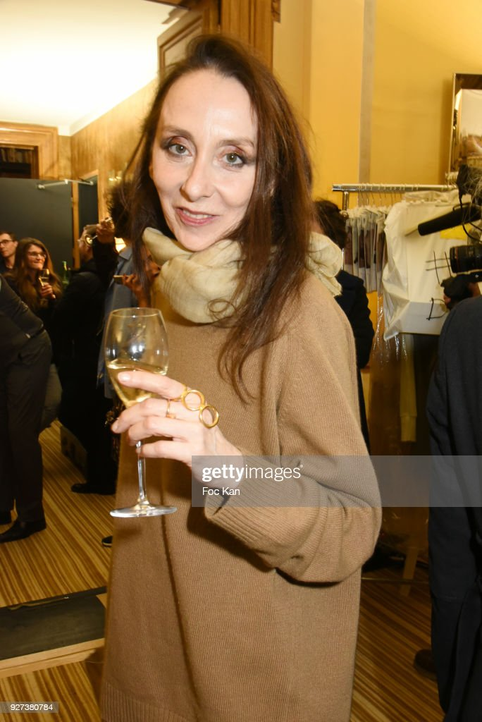 Anouchka attends the John Galliano show as part of the Paris Fashion Week Womenswear Fall/Winter 2018/2019 on March 4, 2018 in Paris, France.