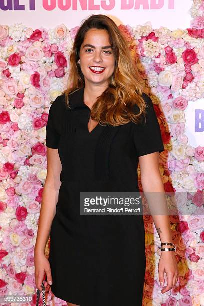 Anouchka Delon attends the Bridget Jones Baby Paris Premiere Held at Cinema Le Grand Rex on September 6 2016 in Paris France