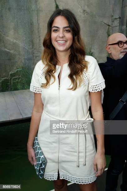 Anouchka Delon attends the Chanel show as part of the Paris Fashion Week Womenswear Spring/Summer 2018 on October 3 2017 in Paris France