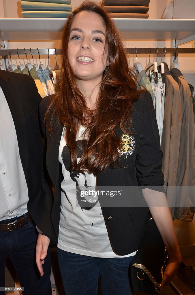 7a4e858434f40c Anouchka Delon attends the Lacoste Flagship Store Opening Party at ...