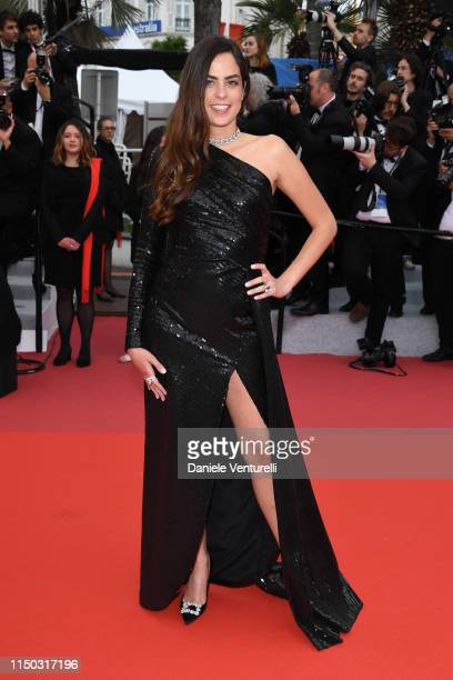 Anouchka Delon attends the screening of A Hidden Life during the 72nd annual Cannes Film Festival on May 19 2019 in Cannes France