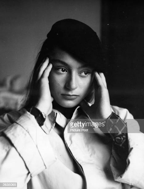 Anouk Aimee, the French film actress .