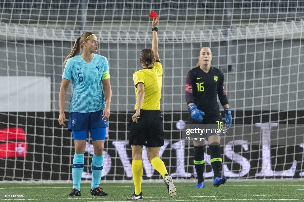 FIFA Women's World Cup 2019 play off final'Women: Switzerland v The Netherlands' : News Photo