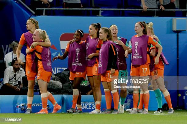 Anouk Dekker of Holland Women Inessa Kaagman of Holland Women Lineth Beerensteyn of Holland Women Lieke Martens of Holland Women Victoria Pelova of...