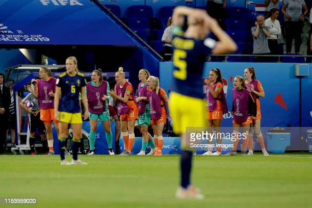 Anouk Dekker of Holland Women Lize Kop of Holland Women Danique Kerkdijk of Holland Women Inessa Kaagman of Holland Women Lieke Martens of Holland...