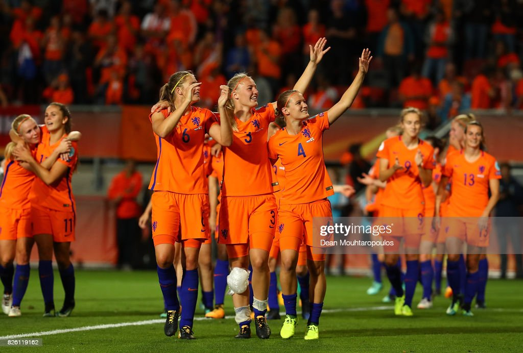 Netherlands v England - UEFA Women's Euro 2017: Semi Final