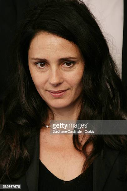Anouk Grinberg at the Palmares Jury Photocall during the 33rd Deauville Film Festival