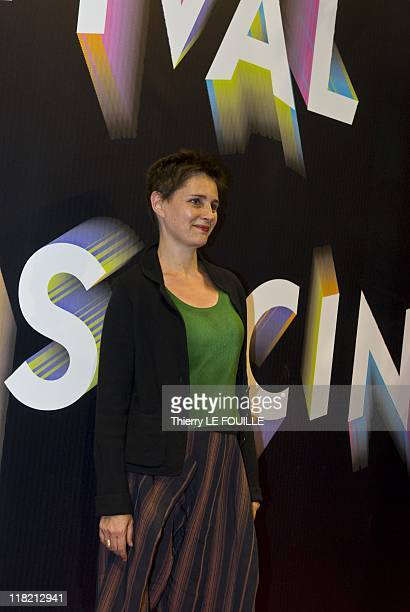 Anouk Grinberg attends the 'Polisse' Premiere during the Paris Cinema Festival at the Gaumont Opera on June 30 2011 in Paris France