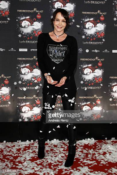 Anouschka Renzi attends the 'Berlin Illuminated' musical premiere at FriedrichstadtPalast on November 24 2011 in Berlin Germany