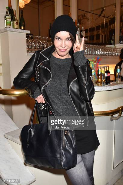 Anouschka Renzi attends the 'Die Niere' premiere on March 4 2018 in Berlin Germany