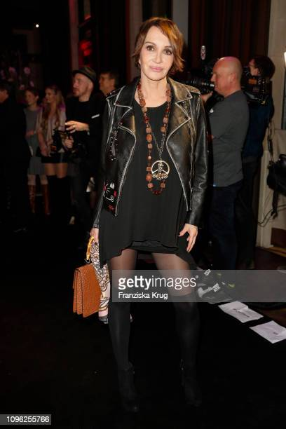 Anouschka Renzi during the BUNTE BMW Festival Night at Restaurant Gendarmerie on February 8 2019 in Berlin Germany
