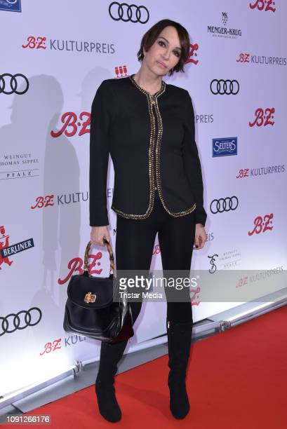 Anouschka Renzi during the B.Z. Kulturpreis 2019 at Volksbuehne on January 29, 2019 in Berlin, Germany.