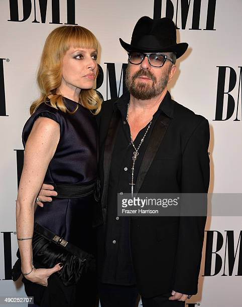 Anoushka Fisz and musician David A Stewart attend the 62nd annual BMI Pop Awards at the Regent Beverly Wilshire Hotel on May 13 2014 in Beverly Hills...