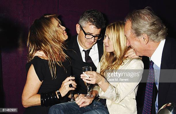 Anoushka Hempel White Cube Director Jay Jopling model Kate Moss and Lord Weinberg attend White Cube party at Sketch to celebrate Frieze Art week on...