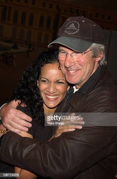 Anoushka Shankar and Richard Gere during Anoushka Shankar Grammy nominated sitarist and daughter of ledgendary sitarist Ravi Shankar performs solo in...