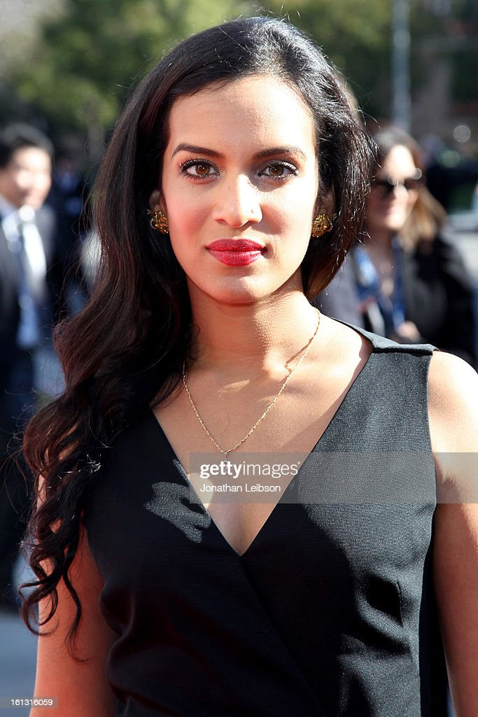 Anoushka Shankar attends the Recording Academy's Special Merit Awards ceremony held at The Wilshire Ebell Theatre on February 9, 2013 in Los Angeles, California.