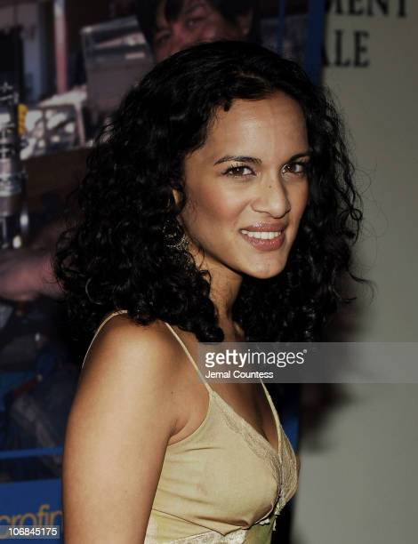 Anoushka Shankar during Jennifer Lopez and Marc Anthony Attend the United Nations International Year of Microcredit Awards Dinner at United Nations...
