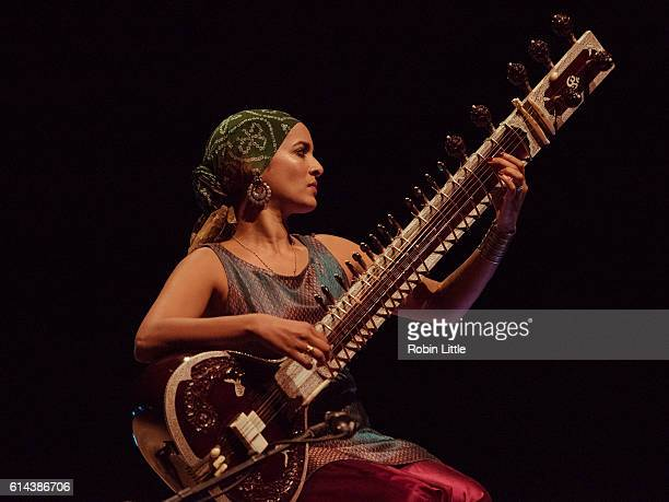 Anoushka Shankar performs at Southbank Centre on October 13 2016 in London England