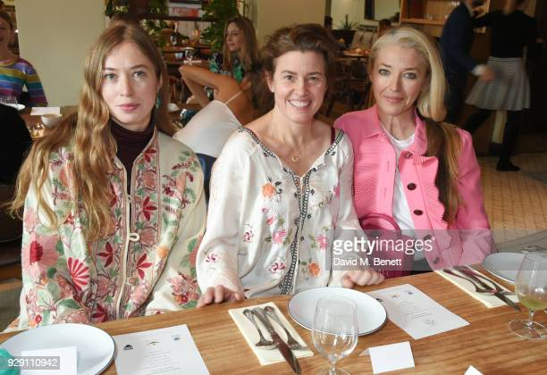 Anouska Beckwith Christina Franco and Tamara Beckwith attend an exclusive breakfast to celebrate International Women's Day and support the...