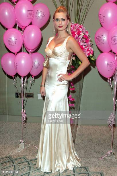 Anouska De Georgiou during 11th Annual Pink Ribbon Ball at The Dorchester in London Great Britain