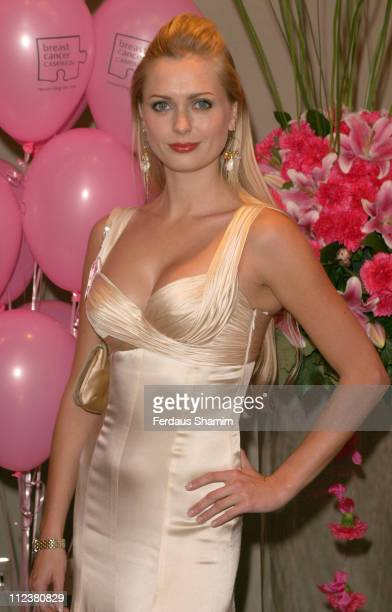 Anouska De Georgiou during Breast Cancer Campaign's 11th annual Pink Ribbon Ball at The Dorchester in London Great Britain