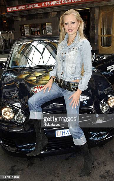 Anouska De Georgiou during Cannonball 8000 Photocall at The Savoy in London Great Britain
