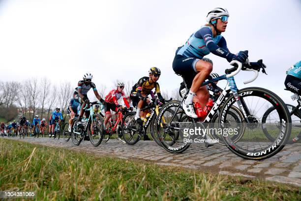Anouska Helena Koster of The Netherlands and Team Jumbo Visma, Ellen Van Dijk of The Netherlands and Team Trek- Segafredo Elisabeth...