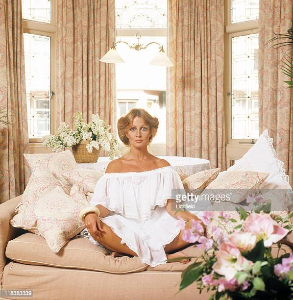 Anouska Hempel Actress turned hotelier and designer 16th May 1980